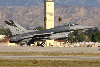 87-0311 - USA - Air Force General Dynamics F-16C Fighting Falcon