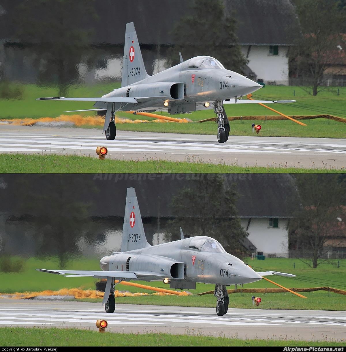 Switzerland - Air Force J-3074 aircraft at Meiringen