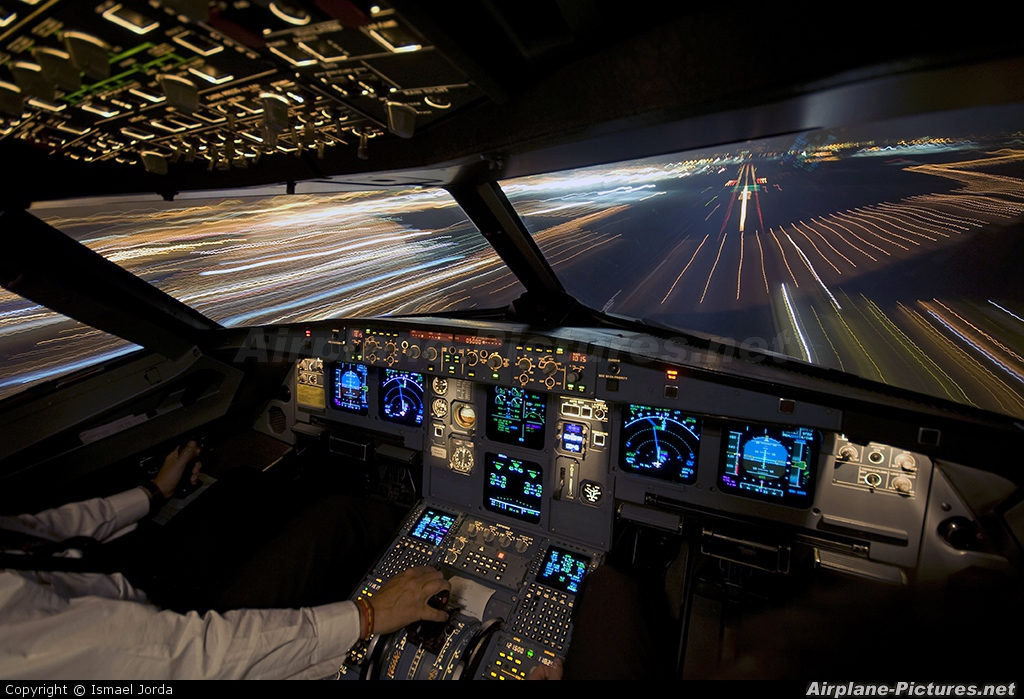 Iberia EC-HTB aircraft at Madrid - Barajas