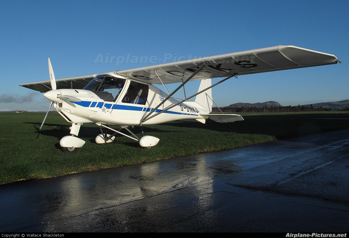 Private G-DNKS aircraft at Perth - Scone