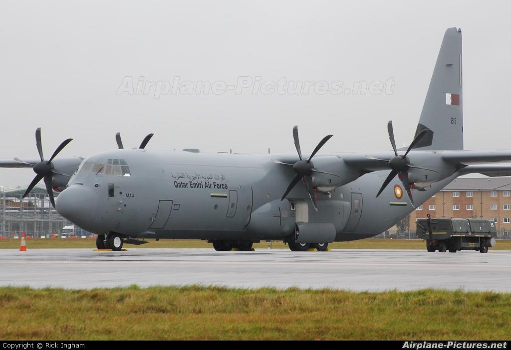 Qatar Amiri - Air Force 213 aircraft at Brize Norton