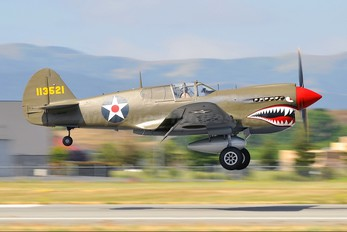 N940AK - Private Curtiss P-40E Warhawk