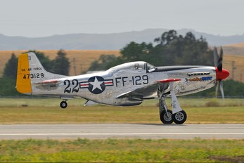 N151SE - Private North American P-51D Mustang