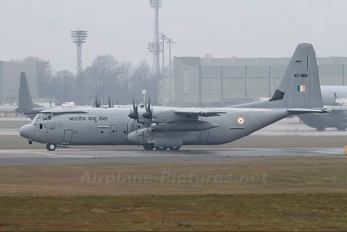 KC-3801 - India - Air Force Lockheed C-130J Hercules