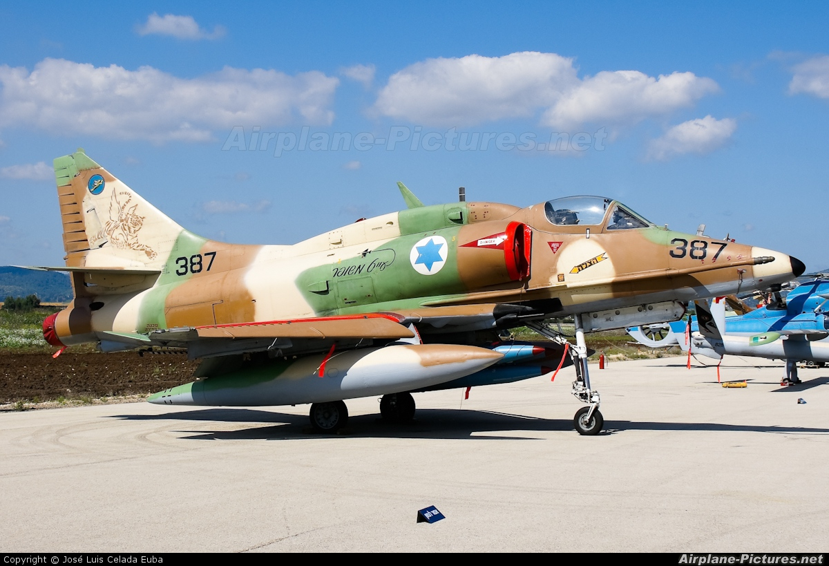 Israel - Defence Force 387 aircraft at Ramat David