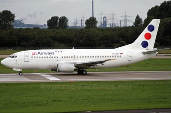 YU-ANJ - JAT Airways Boeing 737-300