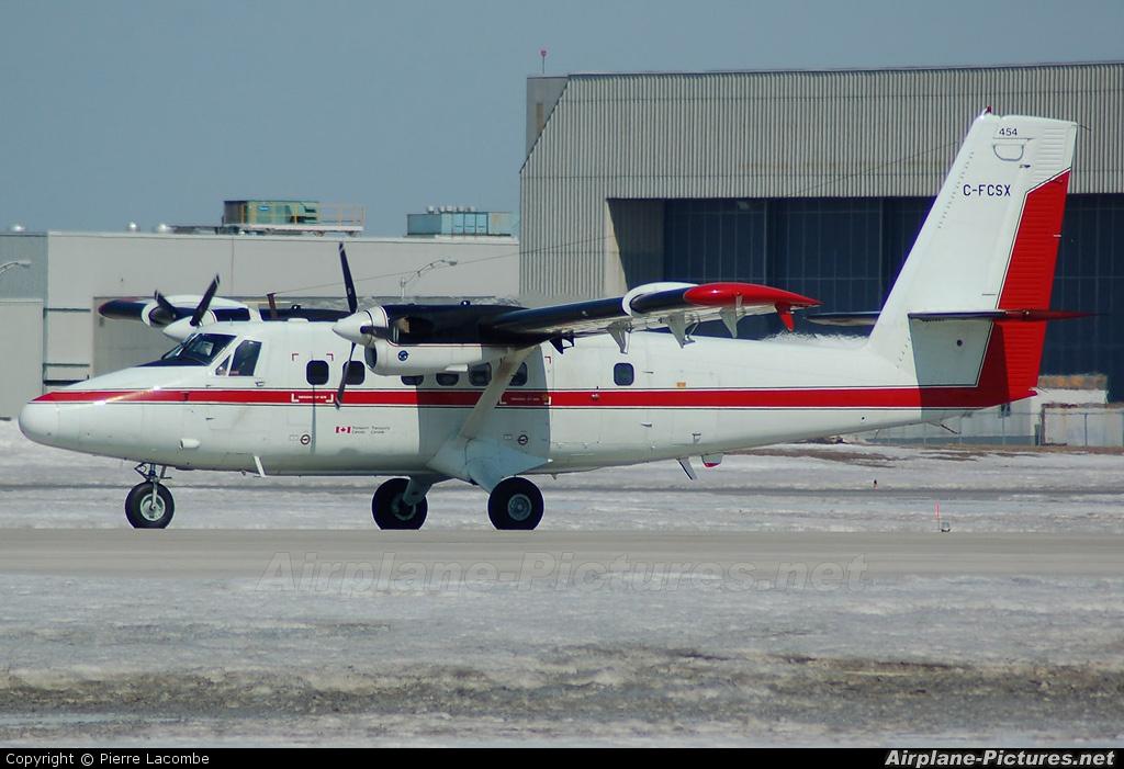 Canada - Dept of Transport C-FCSX aircraft at Montreal - Pierre Elliott Trudeau Intl, QC