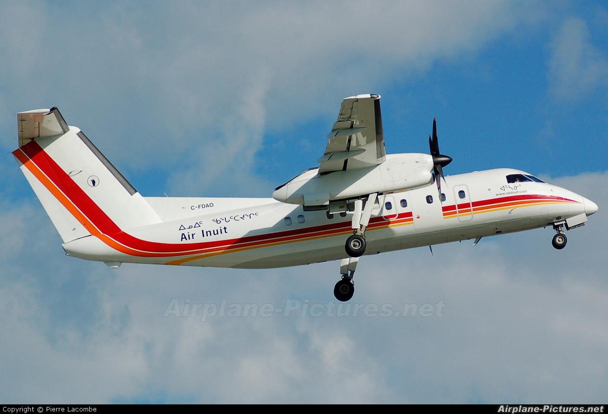 Air Inuit C-FDAO aircraft at Montreal - Pierre Elliott Trudeau Intl, QC