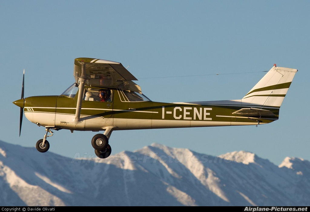 Private I-CENE aircraft at Verona - Boscomantico