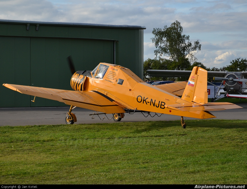 Private OK-NJB aircraft at Jihlava