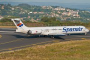 EC-GCV - Spanair McDonnell Douglas MD-82 aircraft