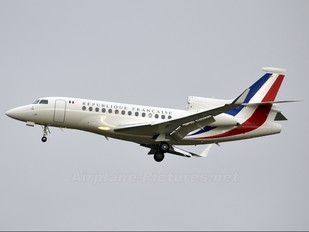 F-RAFA - France - Air Force Dassault Falcon 7X