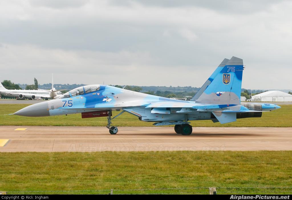 Ukraine - Air Force 75 aircraft at Fairford