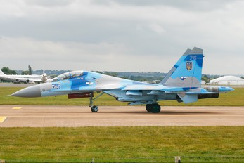 75 - Ukraine - Air Force Sukhoi Su-27UB