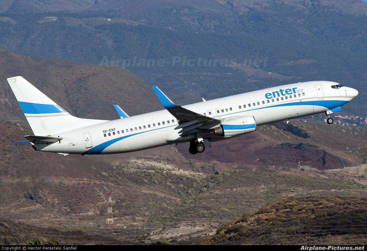Enter Air SP-ENY aircraft at Tenerife Sur - Reina Sofia