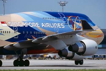 9V-SPK - Singapore Airlines Boeing 747-400