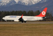 TC-JHF - Turkish Airlines Boeing 737-800 aircraft