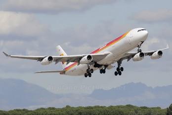 EC-KSE - Iberia Airbus A340-300