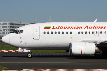 LY-AZW - Lithuanian Airlines Boeing 737-500