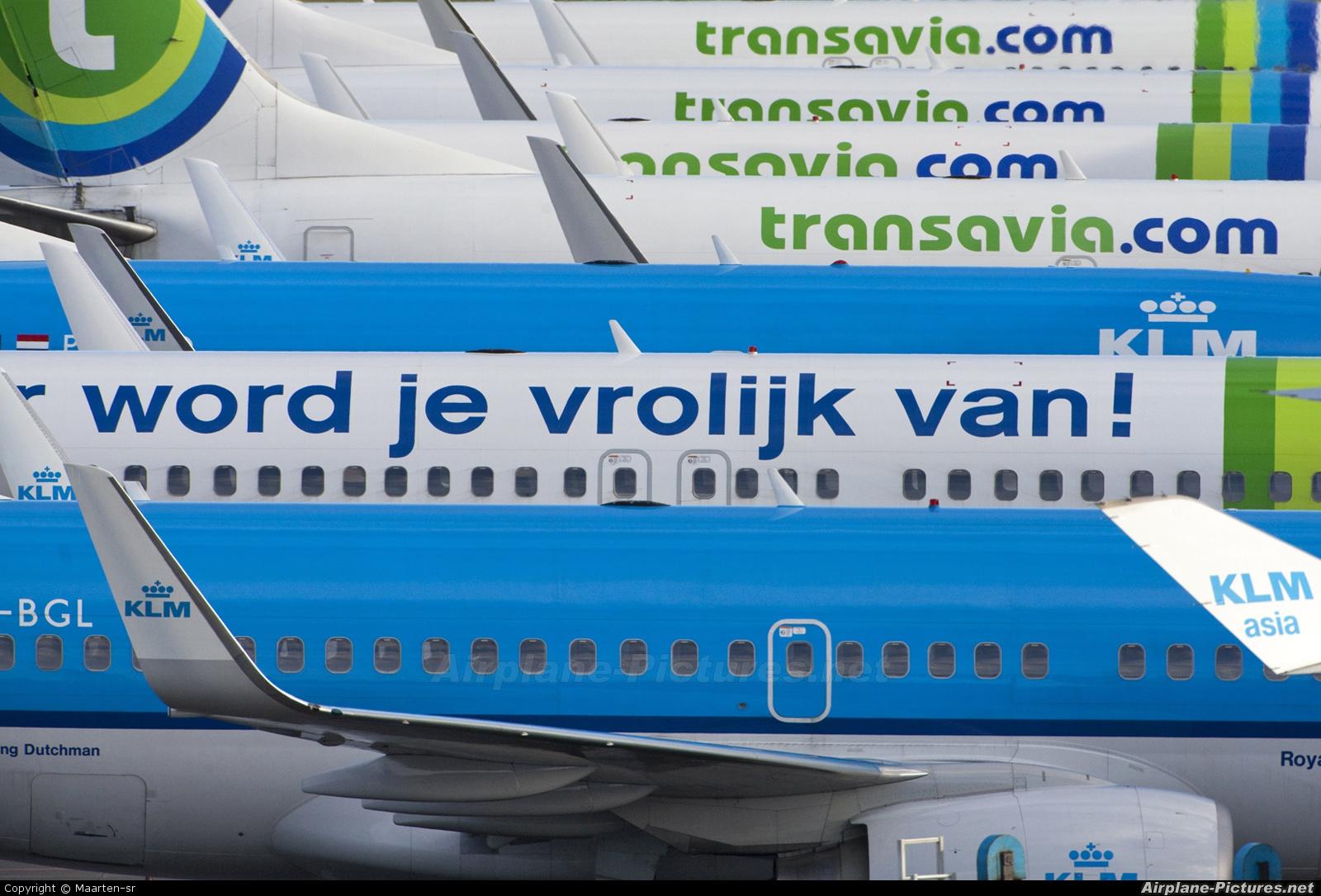 KLM PH-BGL aircraft at Amsterdam - Schiphol