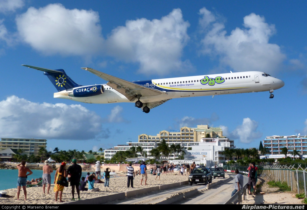 Dutch Antilles Express N120MN aircraft at Sint Maarten - Princess Juliana Intl