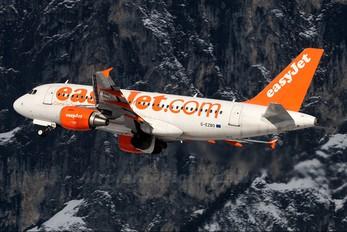 G-EZBO - easyJet Airbus A319