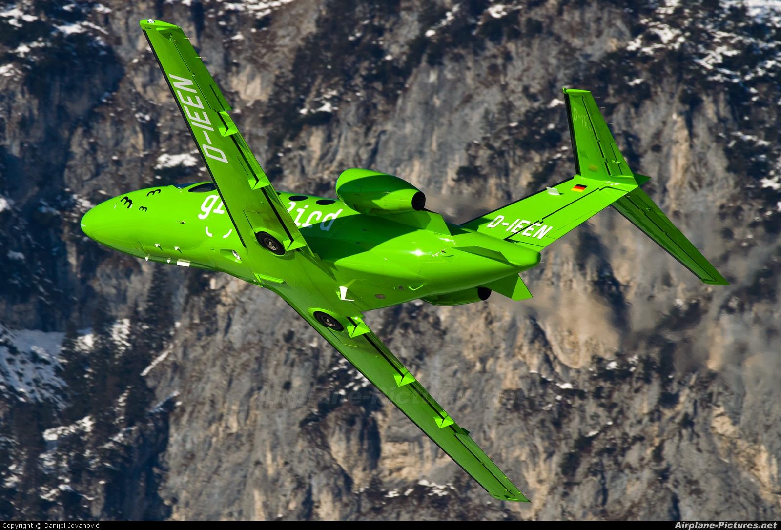 GreenBird D-IEEN aircraft at Innsbruck