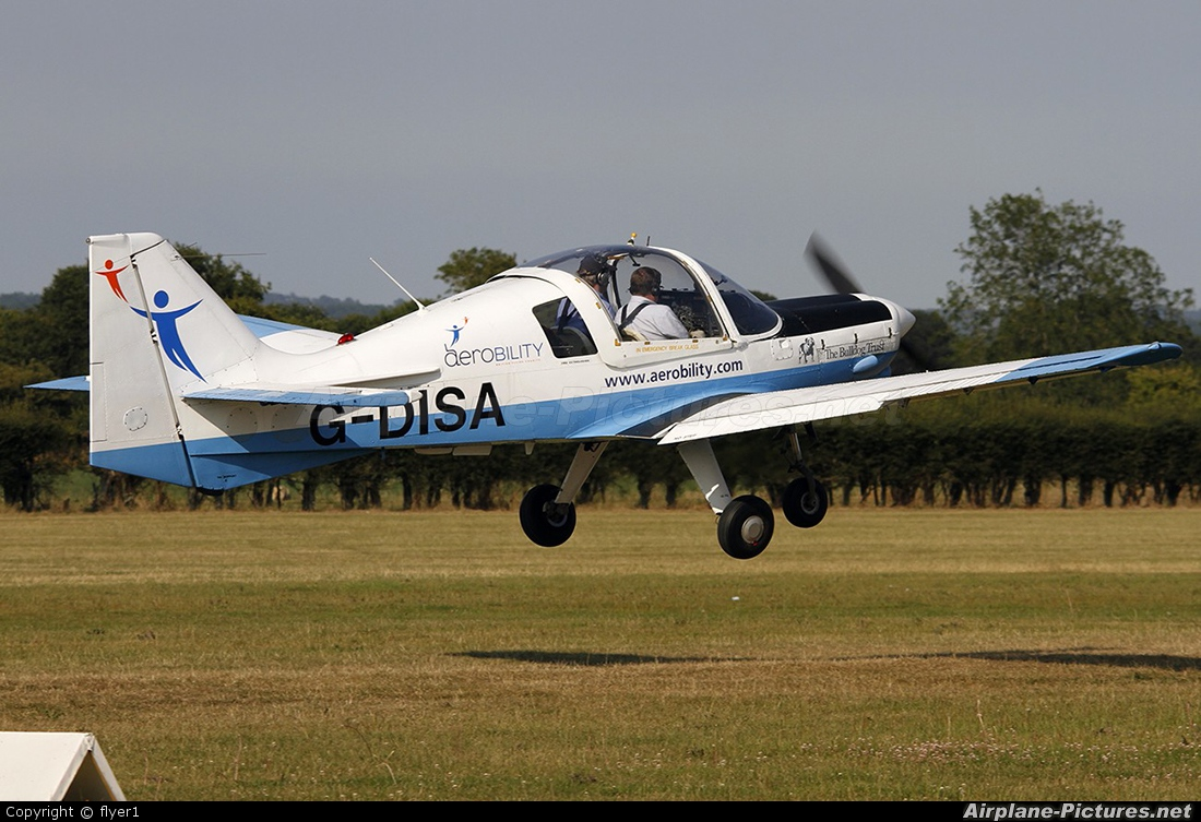 Private G-DISA aircraft at Lashenden / Headcorn