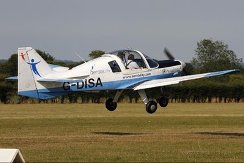 G-DISA - Private Scottish Aviation Bulldog