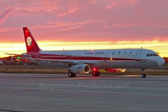 D-AVZI - Sichuan Airlines  Airbus A321