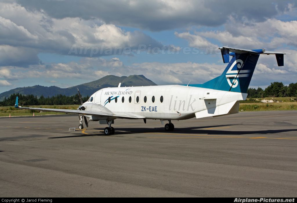 Air New Zealand Link - Eagle Airways ZK-EAE aircraft at Taupo