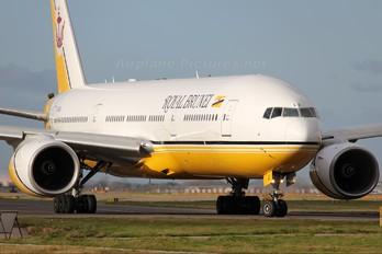 V8-BLE - Royal Brunei Airlines Boeing 777-200ER