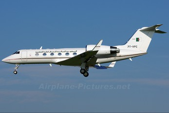 7T-VPC - Algeria - Government Gulfstream Aerospace G-IV,  G-IV-SP, G-IV-X, G300, G350, G400, G450