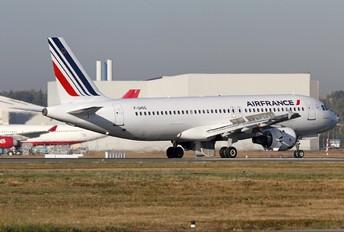 F-GHQG - Air France Airbus A320