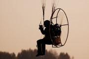 - - Private Parachute Fan aircraft