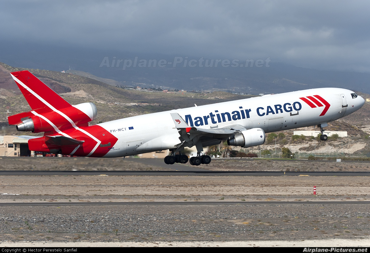 Martinair Cargo PH-MCY aircraft at Tenerife Sur - Reina Sofia