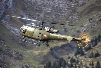 V-268 - Switzerland - Air Force Sud Aviation SA-316 Alouette III