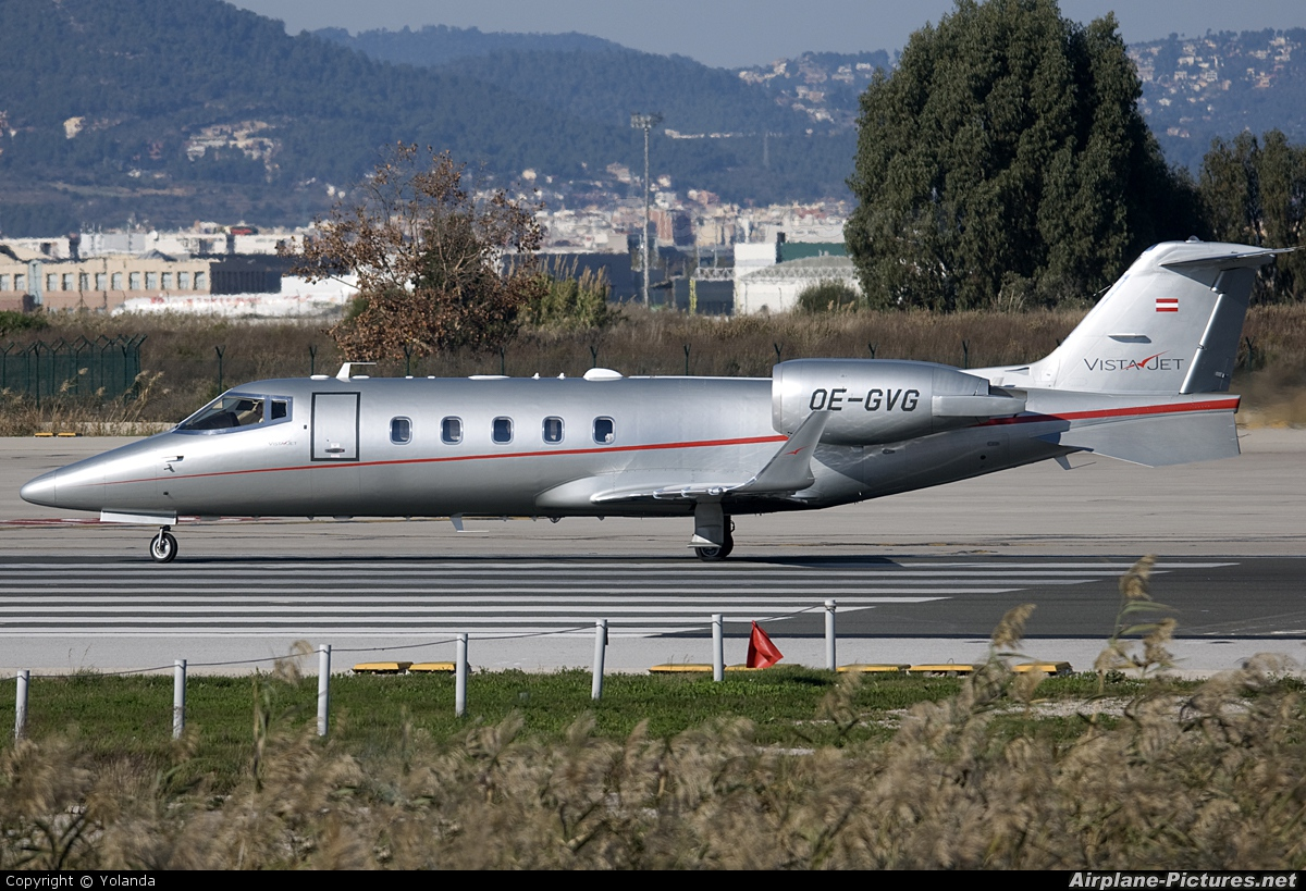 Vistajet OE-GVG aircraft at Barcelona - El Prat