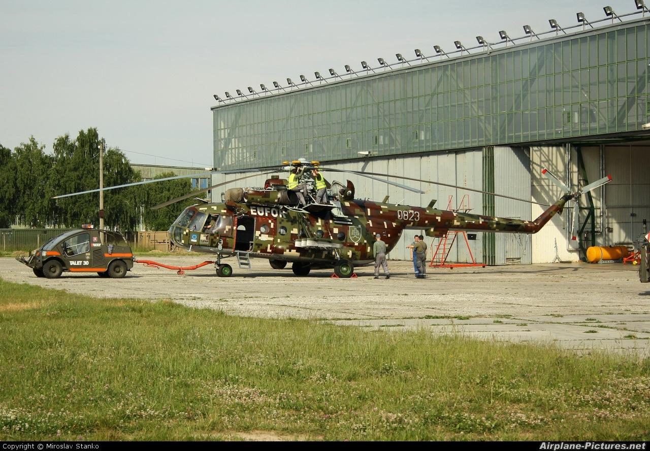 Slovakia -  Air Force 0823 aircraft at Slovakia/Prešov