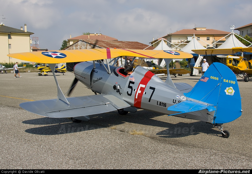 Private I-A116 aircraft at Ferrara