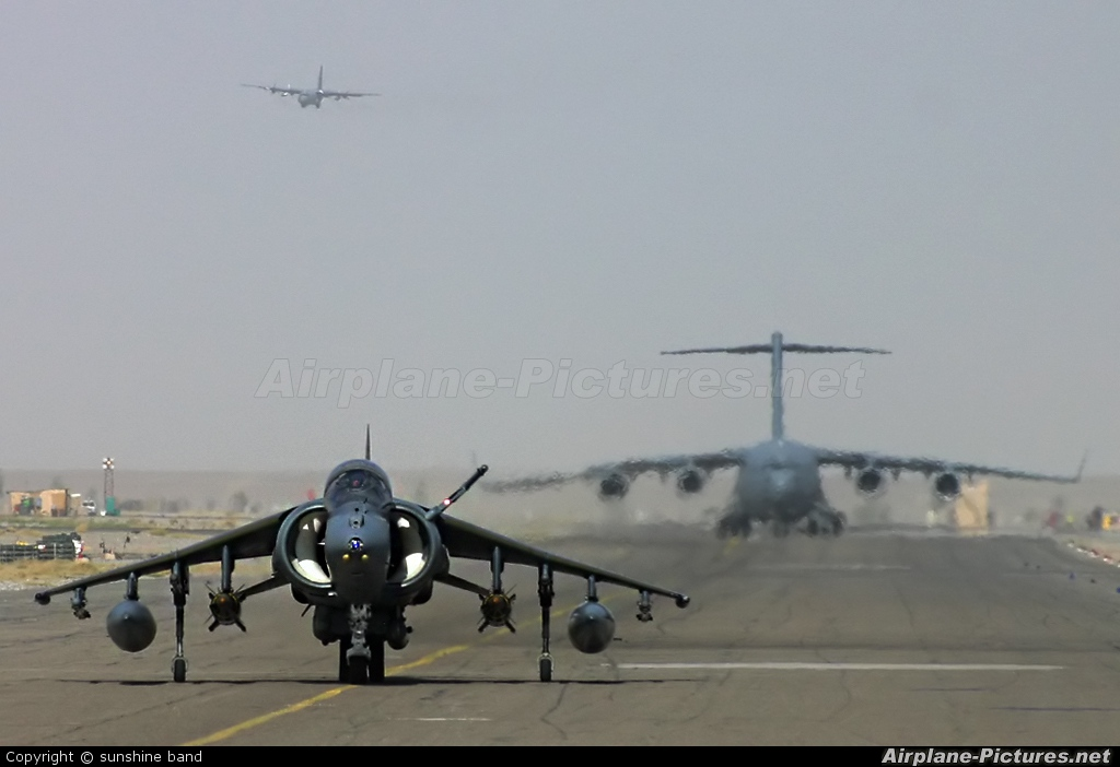 Royal Air Force ZD327 aircraft at Kandahar