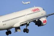 HB-IJK - Swiss Airbus A320 aircraft