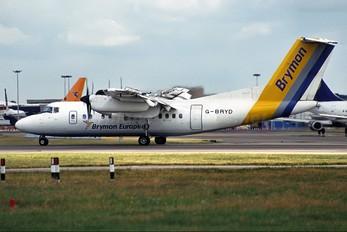 G-BRYD - Brymon European de Havilland Canada DHC-7-100 series