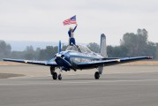 N134JC - Private Beechcraft T-34A Mentor aircraft
