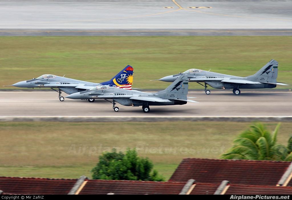 Malaysia - Air Force M43-04 aircraft at Langkawi