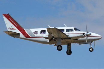 VH-WAL - Brindabella Airlines Piper PA-31 Navajo (all models)