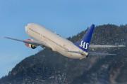 LN-RCZ - SAS - Scandinavian Airlines Boeing 737-800 aircraft