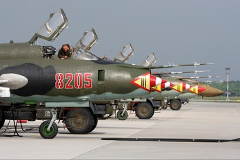 8205 - Poland - Air Force Sukhoi Su-22M-4