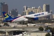 N605NK - Spirit Airlines Airbus A320 aircraft