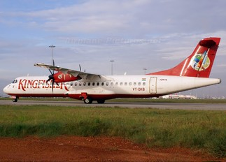 VT-DKB - Kingfisher Airlines ATR 72 (all models)